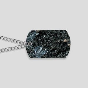 Stibnite mineral Dog Tags