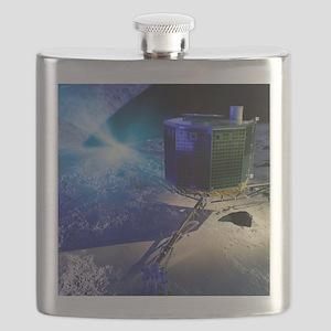 Philae lander Flask