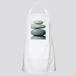 Stacked pebbles Apron