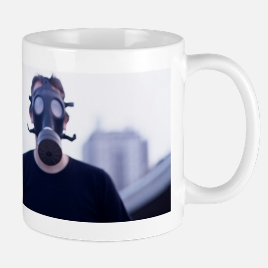 Gas masks Mug