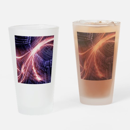 Particle accelerator Drinking Glass