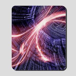 Particle accelerator Mousepad
