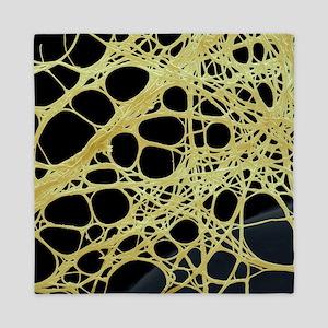 Spider silk, SEM Queen Duvet