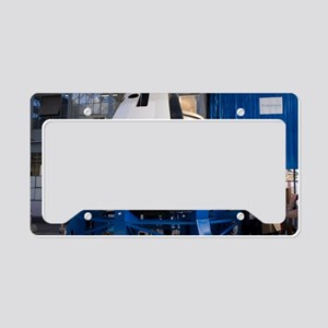 Space capsule License Plate Holder