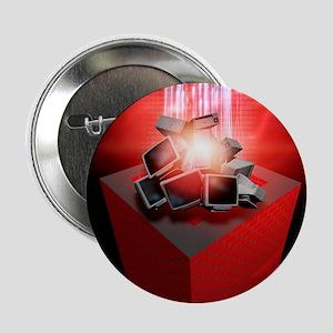 "Firewall protection, conceptual artwo 2.25"" Button"