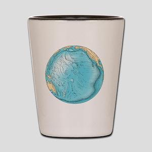 Pacific Ocean sea floor topography Shot Glass