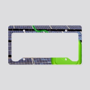 Solar power, conceptual image License Plate Holder