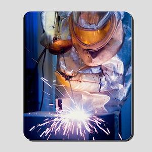 Oxy-acetylene cutting Mousepad