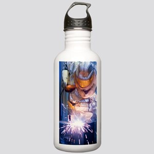 Oxy-acetylene cutting Stainless Water Bottle 1.0L