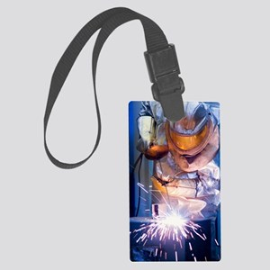 Oxy-acetylene cutting Large Luggage Tag