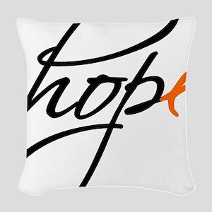 Hope Woven Throw Pillow