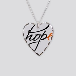 Hope Necklace Heart Charm