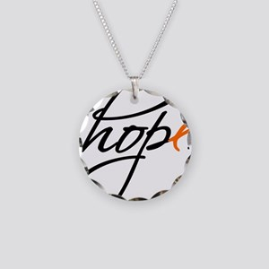Hope Necklace Circle Charm
