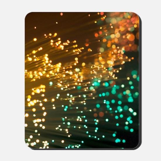 Fibre optics Mousepad