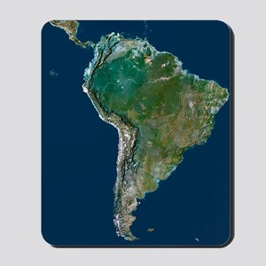 South America Mousepad