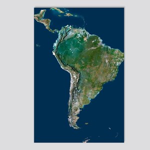 South America Postcards (Package of 8)