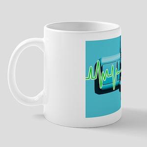 Euthanasia, conceptual artwork Mug
