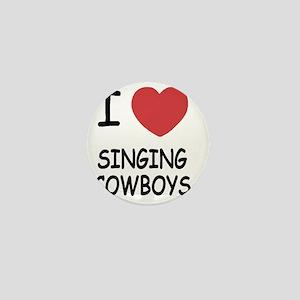 I heart singing cowboys Mini Button