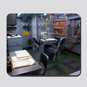 Operations room on USS Intrepid Mousepad