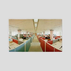 Open Plan Office 3'x5' Area Rug