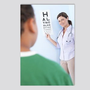 Eye examination Postcards (Package of 8)
