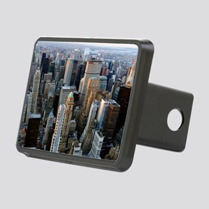Skyscrapers, Manhattan, Ne Rectangular Hitch Cover