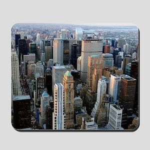 Skyscrapers, Manhattan, New York Mousepad