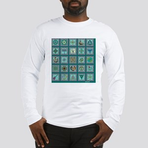 Celtic sampler for the bed Long Sleeve T-Shirt