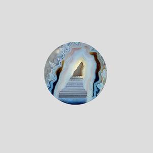Slice of agate Mini Button