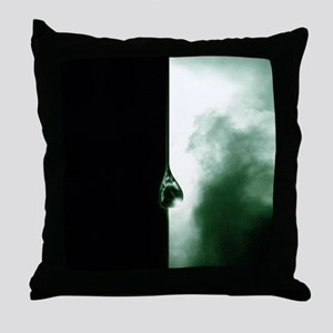 Oil and the environment Throw Pillow