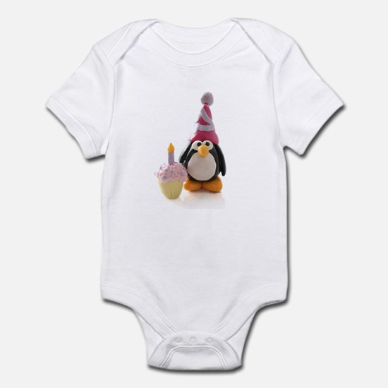 Birthday Penguin Infant Bodysuit