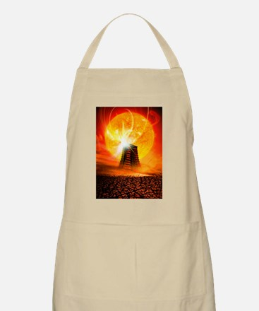End of the World in 2012 conceptual image Apron