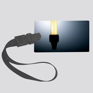 Energy-saving light bulb Large Luggage Tag