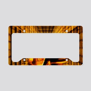 Nuclear fusion reactor worker License Plate Holder