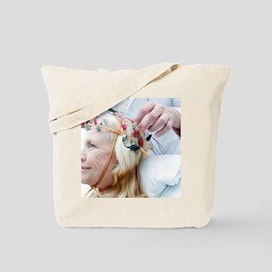 Electroencephalography Tote Bag