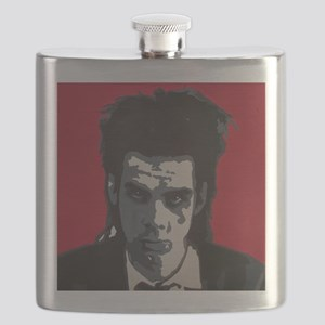 Nick Cave Acrylic Painting Flask