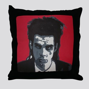Nick Cave Acrylic Painting Throw Pillow