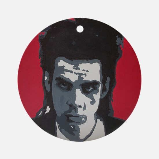 Nick Cave Acrylic Painting Round Ornament