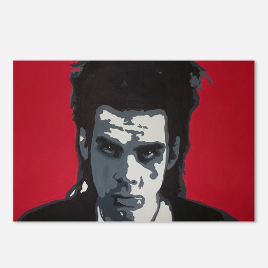 Nick Cave Acrylic Paintin Postcards (Package of 8)