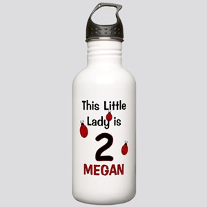 MEGAN This Little Lady Stainless Water Bottle 1.0L