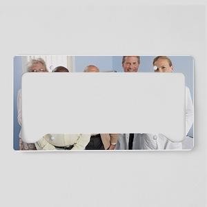 Elderly patients License Plate Holder