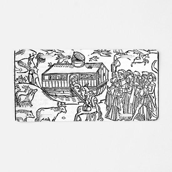 Noah's Ark, 16th-century bi Aluminum License Plate