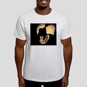 Skull bones of Homo habilis Light T-Shirt