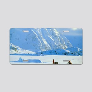 Skidoo and sledge transport Aluminum License Plate