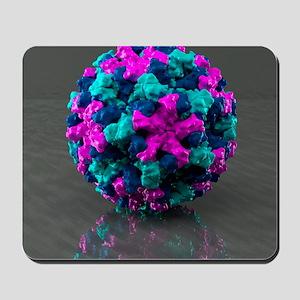 Norwalk virus, artwork Mousepad