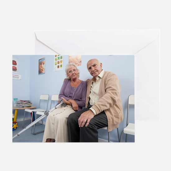 Elderly patients Greeting Card