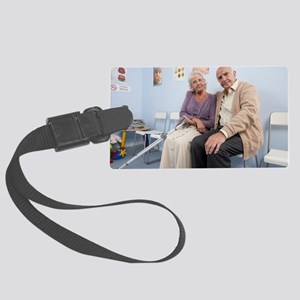 Elderly patients Large Luggage Tag