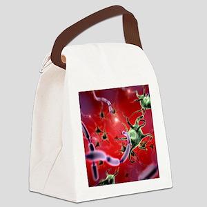 Neural network Canvas Lunch Bag