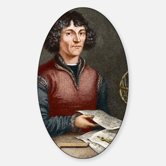 Nicolaus Copernicus (1473-1543) Sticker (Oval)