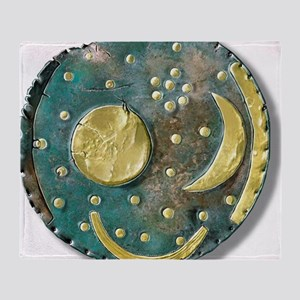 Nebra sky disk, Bronze Age Throw Blanket